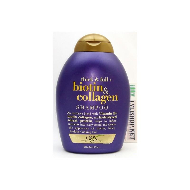 Dầu gội OGX Thick Biotin,Collagen Shampoo chai 385ml từ Mỹ - 2929043 , 97448860 , 322_97448860 , 200000 , Dau-goi-OGX-Thick-BiotinCollagen-Shampoo-chai-385ml-tu-My-322_97448860 , shopee.vn , Dầu gội OGX Thick Biotin,Collagen Shampoo chai 385ml từ Mỹ