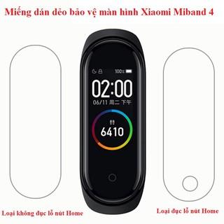 Miếng dán bảo vệ màn hình Xiaomi Miband 4 miband4 mi band 4(Full màn) Miband 5 miband5 chất lượng cao