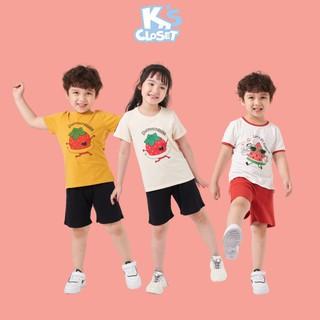 Bộ Quần Áo K s Closet Cộc Tay Cho Bé Trai Và Bé Gái (2 - 9 Tuổi) E045ONS E046ONS E110ONS thumbnail