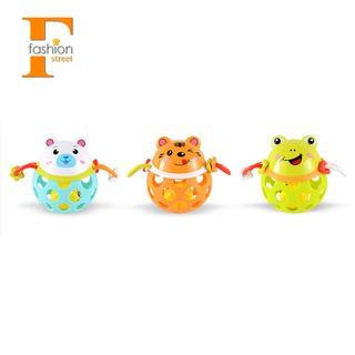 0-12 Months Baby Rattles Toy Guns Plastic Animal Music Hand Shake Toy