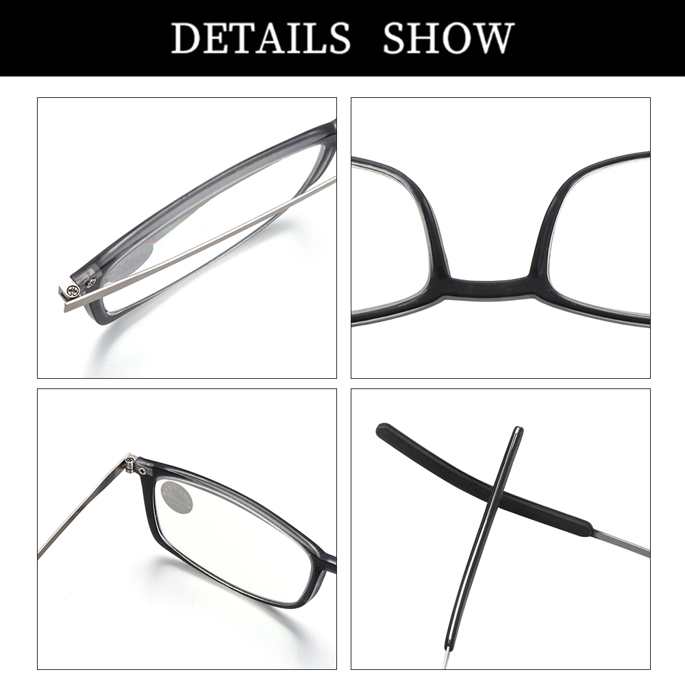 🎉ONLY🎉 Diopters +1.5, +2.0, +2.5 Portable Ultralight Ultra-thin Paper Type Reading Glasses