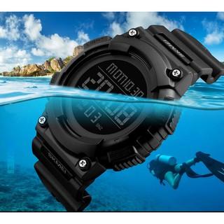 Đồng hồ nam Skmei 1248 điên tử thời trang dây cao su cao cấp