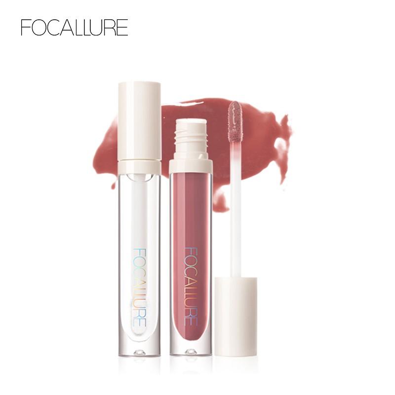 Son bóng FOCALLURE chống dính không dễ phai màu tạo hiệu ứng môi căng mọng 3g
