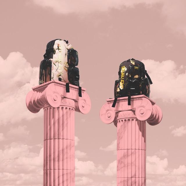 Ba lô 5theway chính hãng màu hồng
