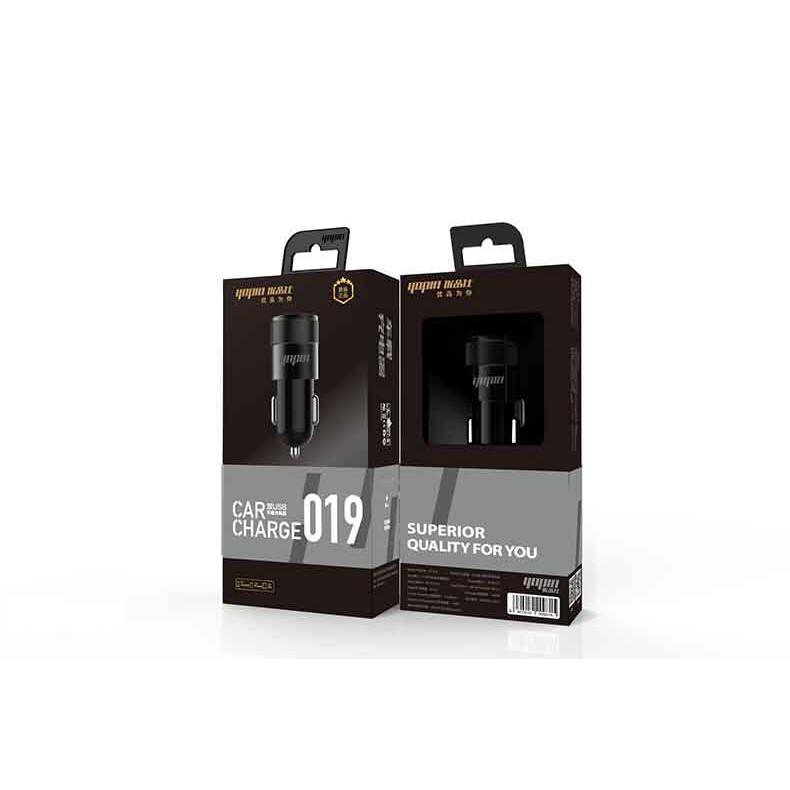 Tẩu sạc ô tô YOPIN 2 cổng USB sạc điện thoại trên ô tô- Adapter sạc, củ sạc xe hơi Yopin