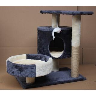 [Mã PET0303 giảm 8% đơn 300K] ( Xả Kho )Cattree nhà mèo 3 tầng - Nhà cây cho mèo thumbnail