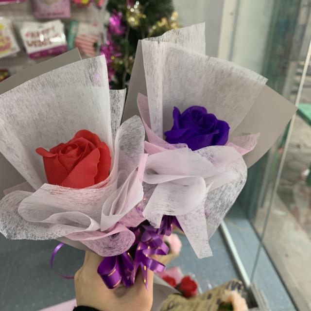 Hoa sáp bó 1 bông - 3 bông