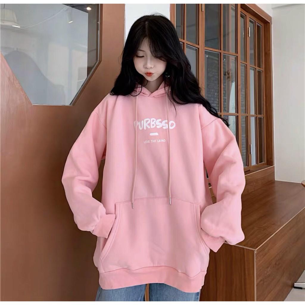 áo khoác hoodie nỉ họa tiết chữ đủ màu form rộng - áo hoodi năng động dành cho nam và nữ
