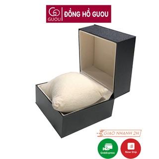 Hộp đựng đồng hồ bọc giả da lót nỉ cao cấp Guou cho đồng hồ nam nữ điện tử thời trang chính hãng thumbnail