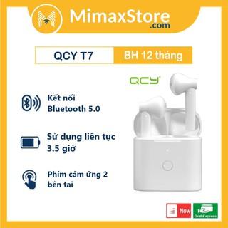 Tai Nghe True Wireless Earbuds QCY T7 Bluetooth V5.0 | Hàng Chính Hãng | Bảo Hành 12 Tháng