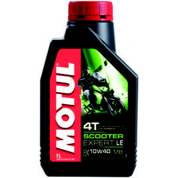 Dầu nhớt xe ga 1 lít 4 thì MOTUL SCOOTER EXPERT LE 10W40 Technosynthese ( Bán Tổng Hợp) SL MB