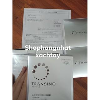 [Mã COSSALE27 hoàn 8% xu đơn 500K] Trị nám tàn nhang Transino 240v Nhật bản kèm bill