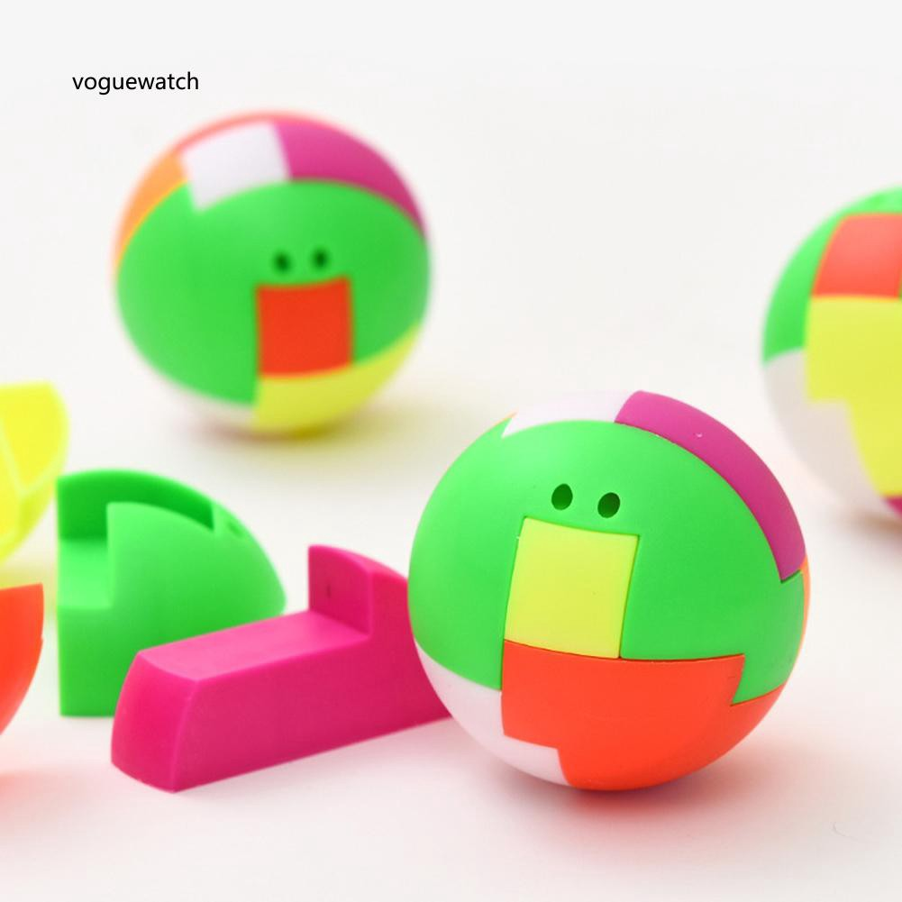 VGWT_Plastic Magic Building Block Puzzle Ball Baby Kids Intelligence Assembled Toy