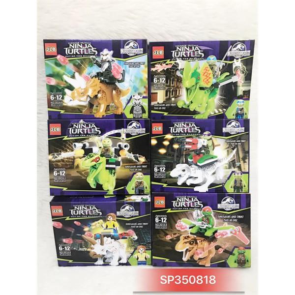 Hộp lego ráp thú ninja turtles 3D14 – 1 – 6 – (50k /hộp) – SP350818