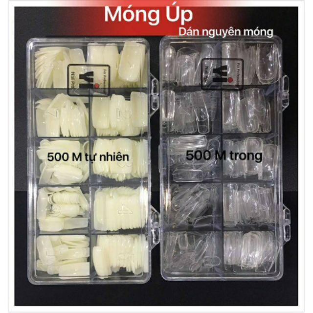 Móng Úp Hộp Hàn [ 500 Móng ]