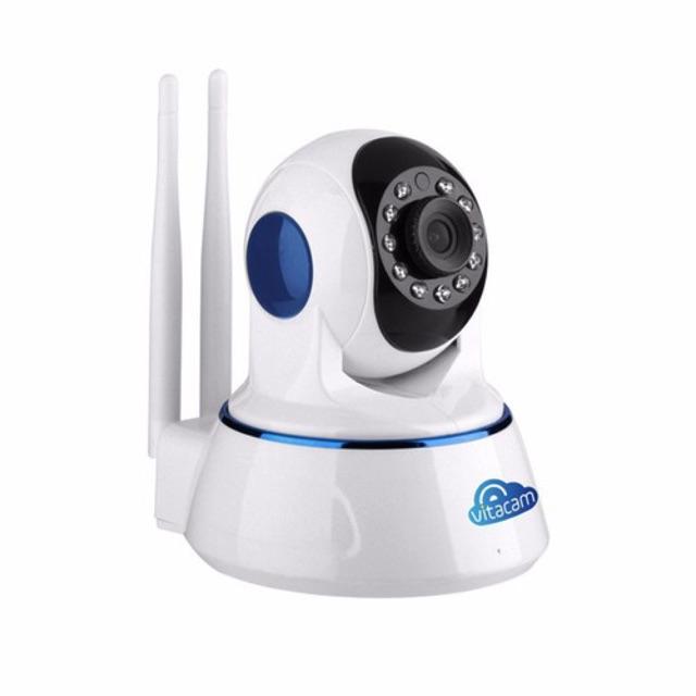 Vitacam VT720 – Camera Đám Mây IP 1.0Mpx 720P HD – Xoay 355 độ, Đàm thoại 2 chiều. - 3362058 , 1219865128 , 322_1219865128 , 810000 , Vitacam-VT720-Camera-Dam-May-IP-1.0Mpx-720P-HD-Xoay-355-do-Dam-thoai-2-chieu.-322_1219865128 , shopee.vn , Vitacam VT720 – Camera Đám Mây IP 1.0Mpx 720P HD – Xoay 355 độ, Đàm thoại 2 chiều.
