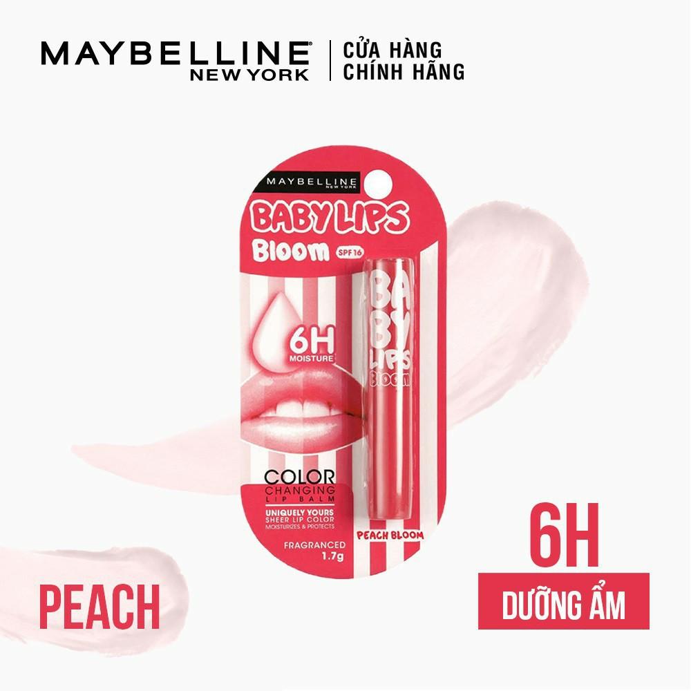 Son dưỡng môi Baby Lips Bloom Maybelline New York chống nắng SPF 16 (có màu) 1.7g