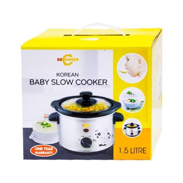[nhập mã giảm] Nồi nấu cháo chậm BB cooker chính hãng 1,5l