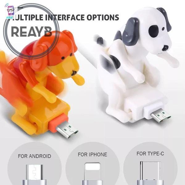 MG Funny Humping Dog Fast Charger Cable Dog Charging Cable Suitable for Various Models of Mobile Phones Type-C Portable Con chó ôm ngộ nghĩnh Cáp sạc nhanh Cáp sạc cho chó phù hợp với nhiều kiểu điện thoại di động Type-C Portable @vn