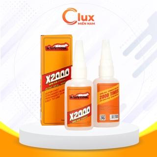 Keo dán X2000 đa năng, Keo siêu dính chính hãng xử lí mọi vật liệu trong nhà