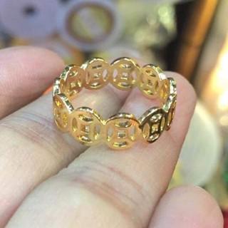 Hình ảnh [Mã FABRREST19 giảm 30k đơn bất kỳ] Nhẫn kim tiền cao cấp ANTA Jewelry ATJ5515-5