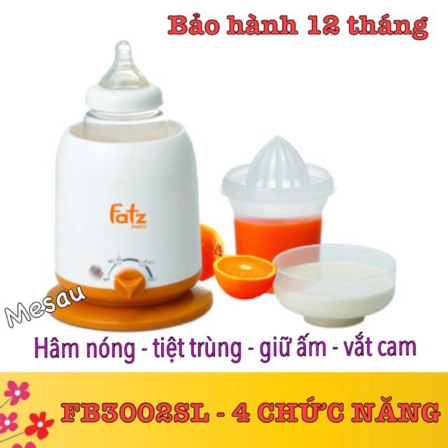 [ Máy hâm sữa fatz baby 4 chức năng ]