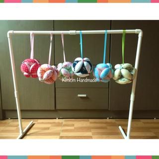 [NEW] Giá treo bóng vải, giá treo đồ chơi treo nôi