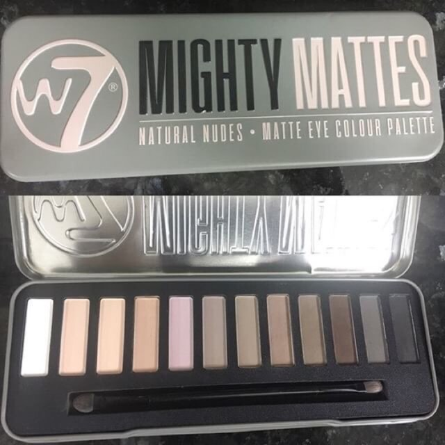 Bảng phấn mắt Mighty Matte của #W7