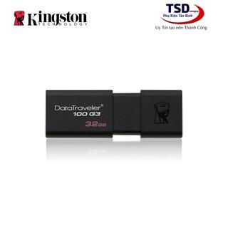 [Mã ELFLASH5 giảm 20K đơn 50K] USB 3.0 Kingston 32GB Chính Hãng