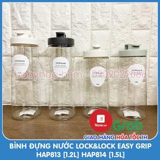 Bình Đựng Nước Lock&Lock Easy Grip HAP813 [1.2L] HAP814 [1.5L]