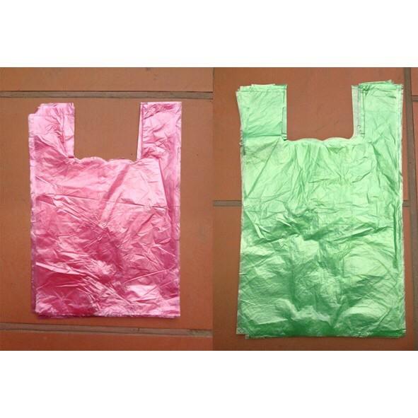 Túi Nilon xốp Zin bóng 2 quai nhiều màu hàng loại 1 giá sỉ