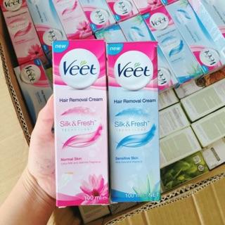 Kem Tẩy Lông Veet Silk & Fresh Technology thumbnail