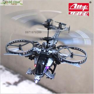 Trực thăng điều khiển từ xa Avatar YD-713 bay ổn định, nhào lộn và xoay 360 độ
