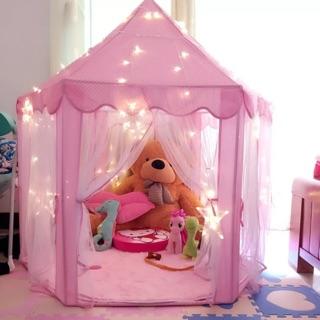 【Hình Thật】Lều công chúa loại dày cao cấp