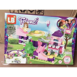 Lego khu vui chơi và những người bạn