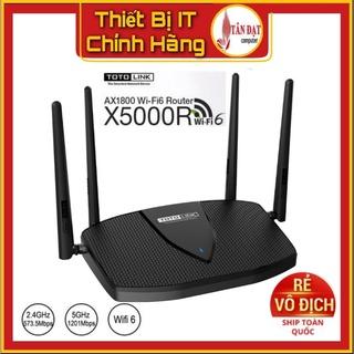 Bộ phát wifi 6 Totolink X5000R Chuẩn AX1800 - Hàng phân phối chính hãng thumbnail