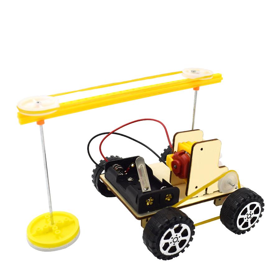 Bộ Đồ Chơi Lắp Ráp Robot Quét Dọn Diy Sáng Tạo Cho Bé Trai