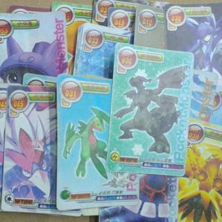 Thẻ bài Pokemon nhựa dẻo