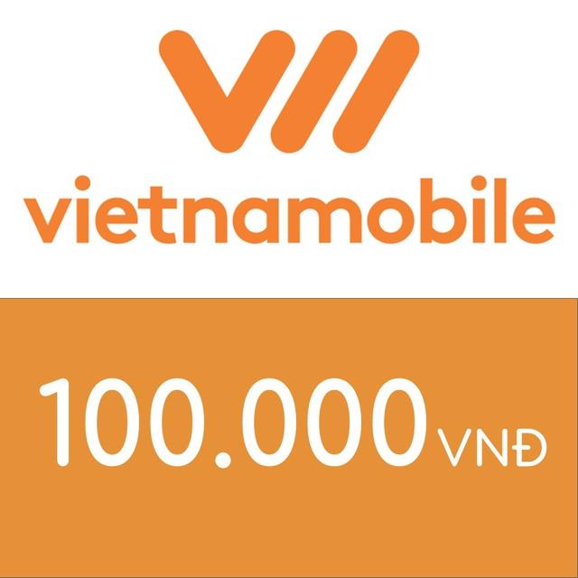 Mã thẻ điện thoại Vietnamobile 100K