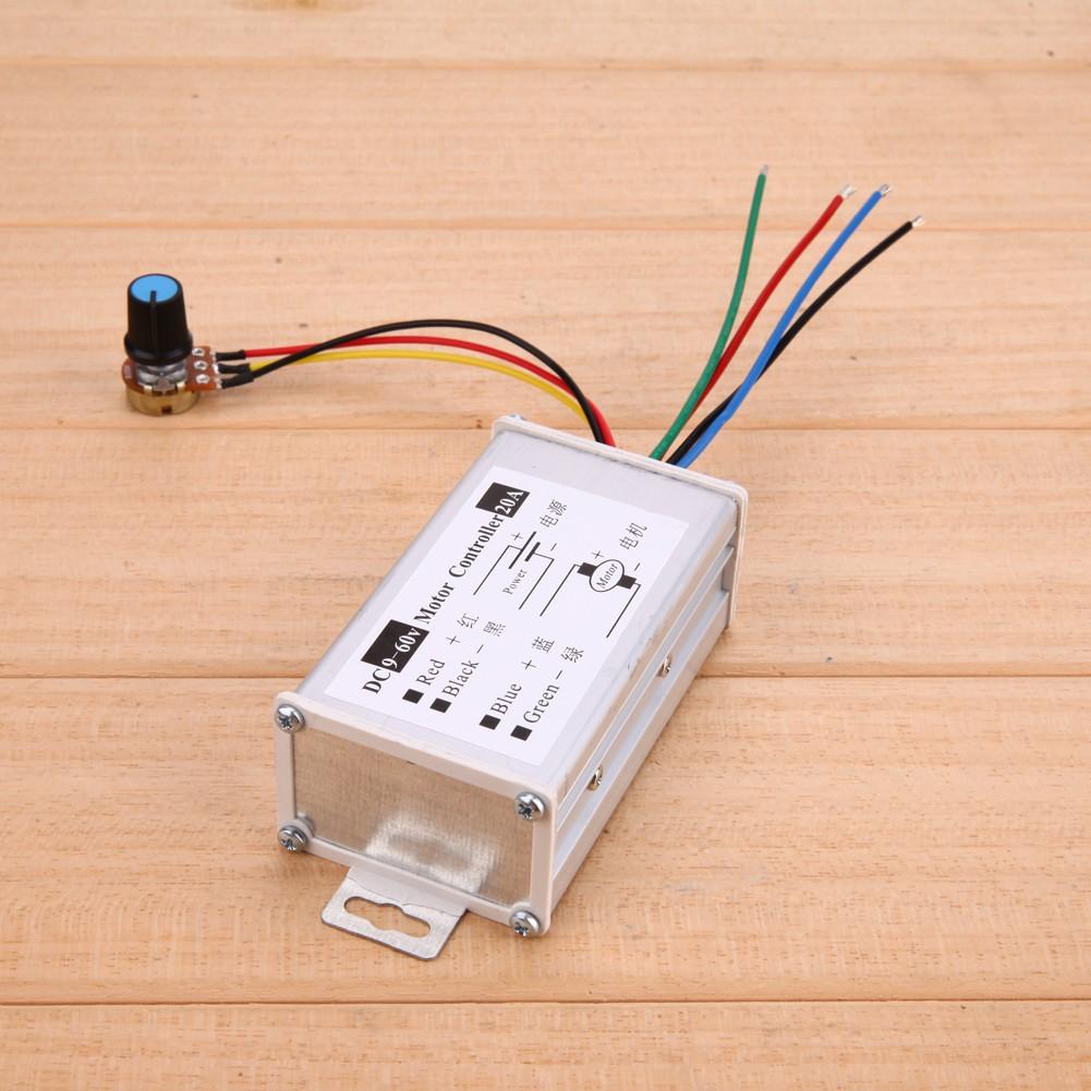 1Pc Motor Speed Regulator Pulse Width Modulator PWM Control Switch Governor