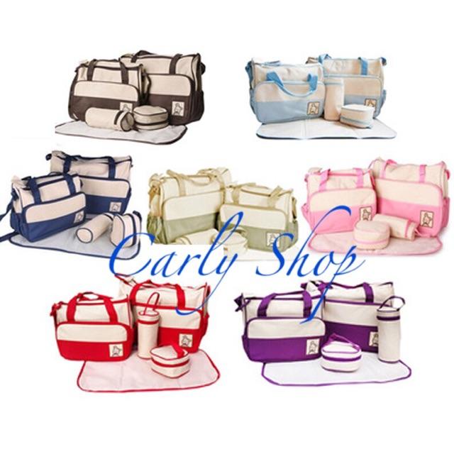 Set túi 5 chi tiết cho mẹ và bé - 2640343 , 95826677 , 322_95826677 , 200000 , Set-tui-5-chi-tiet-cho-me-va-be-322_95826677 , shopee.vn , Set túi 5 chi tiết cho mẹ và bé