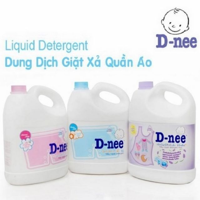 Bigsale nước giặt D-nee trả giá 165k