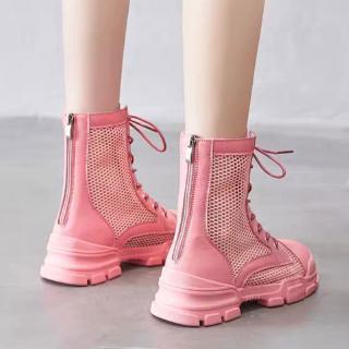 Giày Bốt Martin Thời Trang Anh Quốc Cá Tính Cho Nữ 2021