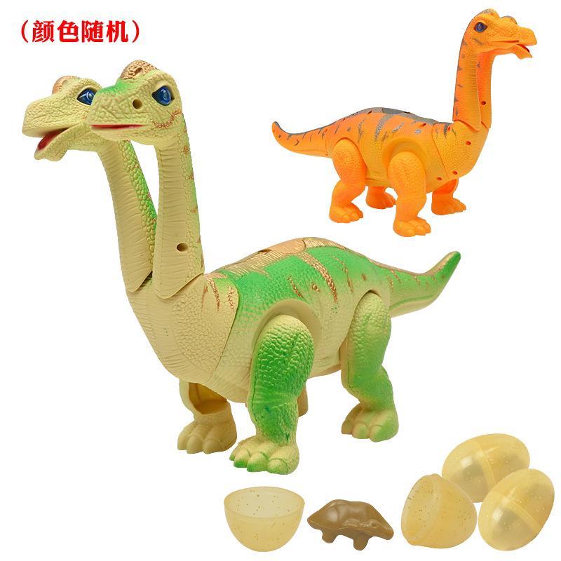 Dinosaur toys, two headed dragon, walking light