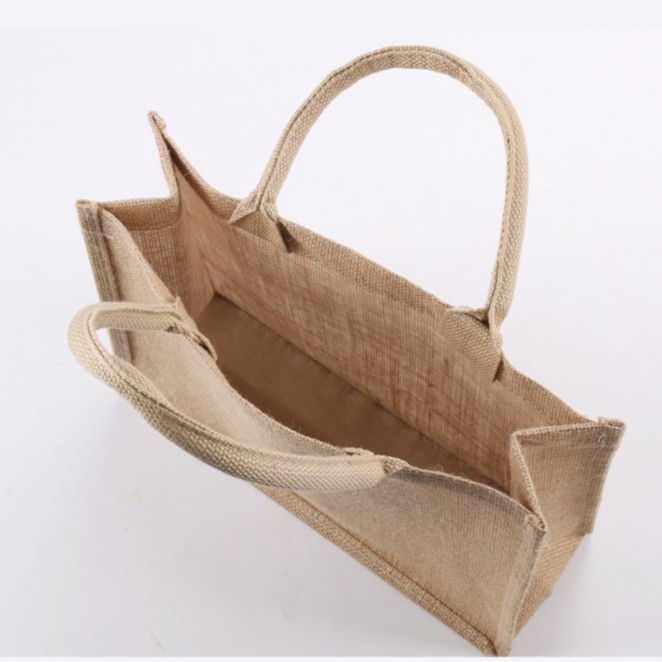 [ Nhiều kiểu ] Túi Đay thêu tay Quai Đay, Kiểu dáng Vintage, Kích thước 36 * 15 * 28 CM - SP thân thiện với Môi trường