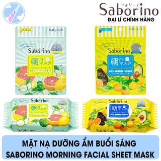 Mặt Nạ Dưỡng Ẩm Buổi Sáng Saborino Morning Facial Sheet Mask