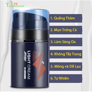 (Giá Hủy Diệt) LightCream Makeup Nâng Tone Che Khuyết Điểm Kem Trang Điểm 4in1 Dành Cho Nam