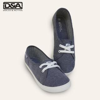 Giày slipon bé gái D&A EPG1928 Ghi thumbnail