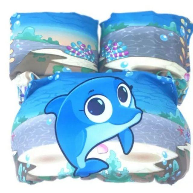 *Phao tập bơi cho trẻ em từ 2 đến 6 tuổi (10-35kg)