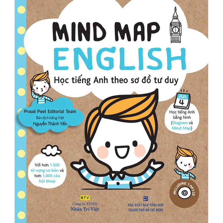 Mind Map English - Học tiếng Anh theo sơ đồ tư duy (kèm CD)
